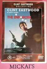 THE ENFORCER - CLINT EASTWOOD COLLECTION #21511 WARNER BROTHERS DVD PAL Rare OOP