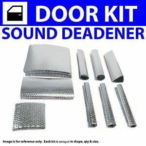 Heat & Sound Deadener Ford Truck 1999 - 2014 F250 + 4 Door Kit 22518Cm2 zirgo