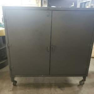 6' W x 3' D x 5' H Stronghold Rolling Cabinet