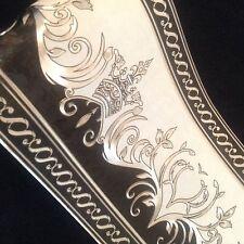 Bodüren Borte wunderschöne Bordüre  Schwarz Silber 5 MLang 8,8CM breit