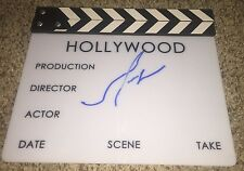 Mel Gibson Signed Director Movie Clapboard Hacksaw Ridge with proof