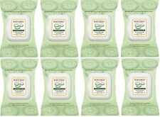 8 Pack Burt's Bees Cucumber and Sage Facial Cleansing Towelettes 30 count Each