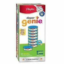 Playtex Diaper Genie Refill Bags Registry Gift Set, 8 Pack - 2160 Count
