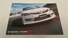 2008 Honda Civic Type R Mugen Power Tuner Catalog Brochure Japan HTF