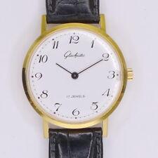 Glashütte Double Herren Armbanduhr - Klassiker aus den Anfängen der1990er Jahren
