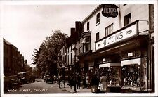 Cheadle. High Street # 3840 in RA Series. Hiltons Shoe & Boot Shop.
