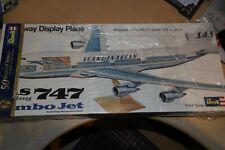 REVELL 1:144 BOEING 747 JUMBO JET SAS CUTAWAY DISPLAY PLANE   H-177