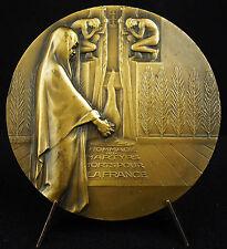 Médaille veuves déportés politiques Political deportees Bazor 1945 Martyre Medal