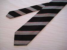 KOLTE Neck Tie Black/Gray/Pink 100% Silk