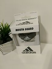 Adidas, Mouth Guard ,Color Black, Tether Included