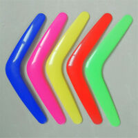 V Shaped Boomerang Toy Kids Throw Catch Outdoor Game Plastic Toy LE