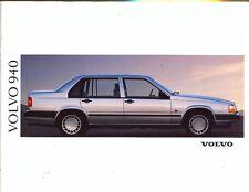Volvo 960 range Swedish market 1992 sales brochure