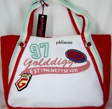 GOLDDIGGA BAG SHOULDER GRAB BAG RED/WHITE HANDBAG BNWT RRP £45 SALE £25 BUY NOW