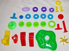 Multicolor Art Play Doh Dough Molding Toys Lot of 28 Misc Pieces