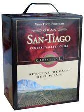 SAN TIAGO RED WINE SPECIAL BLEND Bag in Box 3 Liter 13%