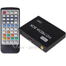 Full 1080p HDMI Media Player Romote Control Wireless HDD MKV SD USB TV AVI RMVB