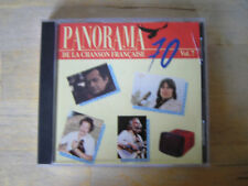 cd album panorama de la chanson francaise 70 vol.7