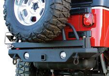 Rampage Rear Recovery Bumper w/ Swing Away Tire Mount 76-06 Jeep Wrangler 76610