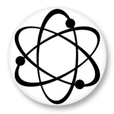 Pin Button Badge Ø38mm Physique Chimie Atome Atom