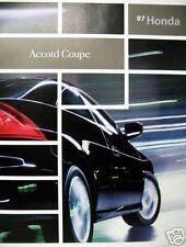 2007 Honda Accord Coupe new vehicle brochure