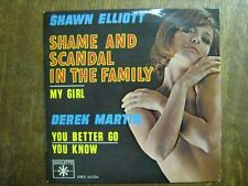 SHAWN ELLIOTT DEREK MARTIN EP FRANCE SHAME AND SCANDAL