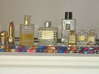 Vintage Chanel/Christain Dior Perfume Bottle Collectiables+Lipstick