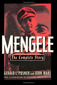 Mengele: The Complete Story by John Ware Paperback Book The Cheap Fast Free Post