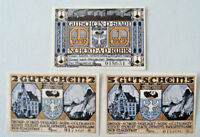 Notgeld Neheim an der Ruhr German Emergency Money Complete Set Mehl:931.1a(2441