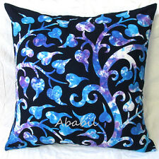 """24X24"""" Square Large Sofa Cushion Pillow Cover Hippie Tie Dye Indian Room Decor"""