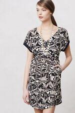 NWOT Postmark Anthropologie Floral Gathered Sonata Dress XS