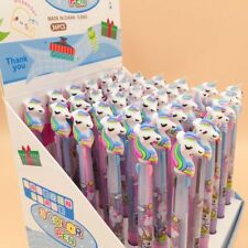 Cartoon Unicorn 3 in 1 Ballpoint Pen Ball Point Pens Kids School Office Supply
