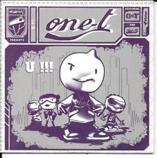 CD SINGLE PROMO--ONE T--U!!!--2006