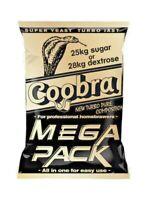 5 x COOBRA Mega Pack 100l turbo pure super yeast 18% alcohol spirit free P&P UK