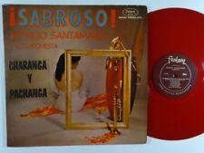 Mongo Santamaria Sabroso.Rare Red(Translucent)Vinyl.Fantasy 3314.Exc-Nice Copy!