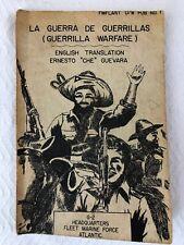 Ernesto Che Guevara ~ LA GUERRA DE GUERRILLAS A Camilo -Cuba 1961 HTF!