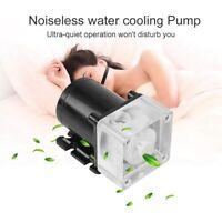 PC Liquid Water Pump Cooling Kit 50mm Radiator Pump Reservoir For PC CPU 500L/H