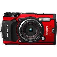 Olympus Tough Waterproof TG-5 Digital Camera (Red) - Olympus Authorized Dealer!