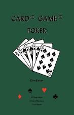 Cardz Gamez Poker (Paperback or Softback)