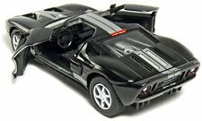 "Kinsmart 5"" 2006 Ford GT Diecast Model Toy Car 1:36 New - Black"