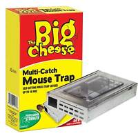 The Big Cheese STV177 Multi Catch Mouse Trap - Large Catches Up To 10 Mice