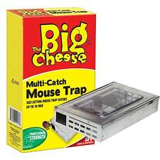 Big Cheese STV177 Multi Catch Mouse Trap Large Catches up to 10 Mice Humane Rat