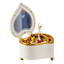 Ballerina Heart Music Box with Storage