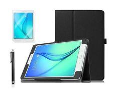 Carcasas, cubiertas y fundas negro de piel para tablets e eBooks Samsung