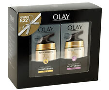 Olay Total Effects Anti Ageing Moisturiser SP15 And Night Firming Gift Set