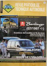 Partner 97-02 Revue technique Peugeot
