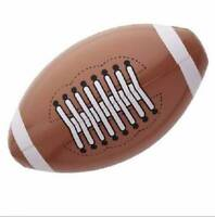 ** INFLATABLE AMERICAN FOOTBALL 36CM PARTY FANCY DRESS PROP SPORT BALL NEW **