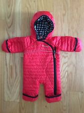 Columbia Omni Heat Baby Snowsuit Snow Suit Baby 0-3 Months Red