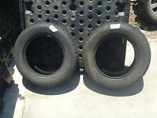 LOCAL PICKUP 2 QTY PaceMark SnowTrakker ST/2 Tires 185/70R14 Studded Snow Tires