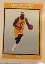 "Lebron James Cavaliers Gold Ad Panel 4"" x 6"" FATHEAD NFL Wall Graphics Decal"