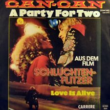 "7"" CAN-CAN Party For Two OST Schluchtenflitzer JÖRG EVERS CARRERE 1979 NEUWERTIG"